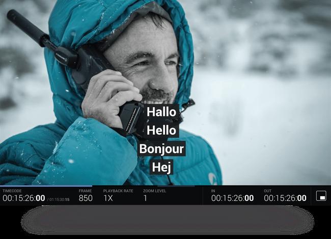 Subtitles & closed captions